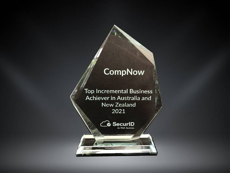 CompNow Wins RSA Top Incremental Business Achiever in Australia and New Zealand for 2021