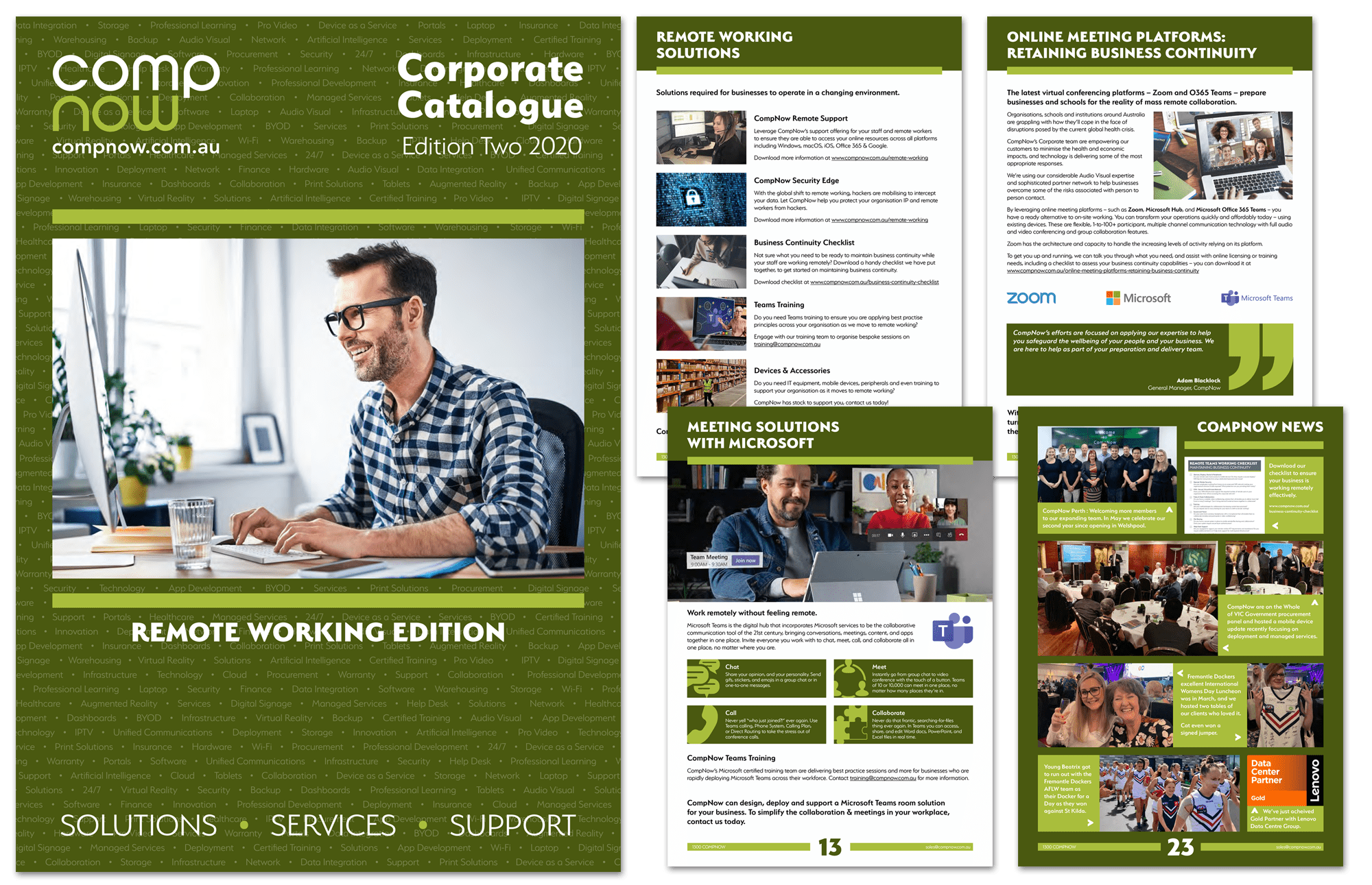 Our newest Corporate Catalogue – Remote Working Edition – is out now