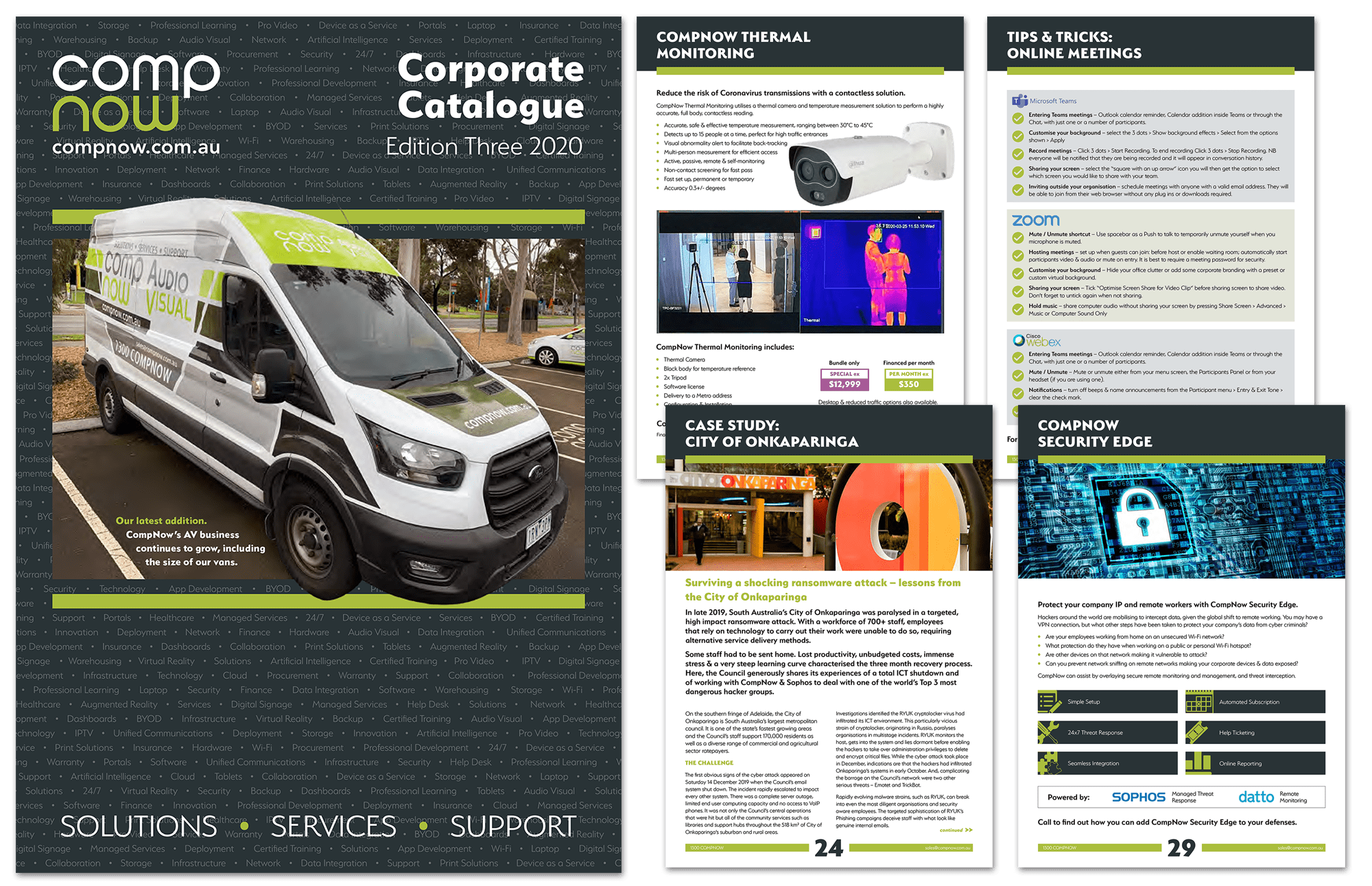 The latest Enterprise Solutions for FY21 in our Corporate Catalogue Edition Three